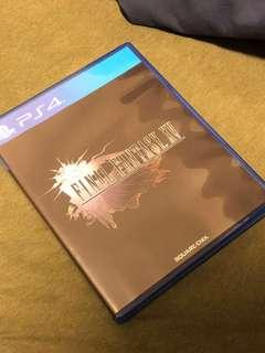 Playstation 4 Final Fantasy XV #SpringCleanAndCarousell50