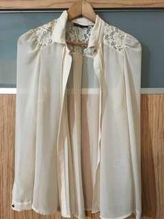 Warehouse White blouse