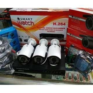 Affordable Package Full HD 1080P 3pcs outdoor camera.