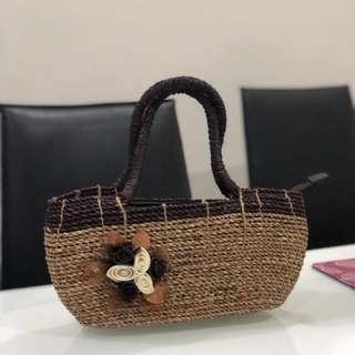 Bali handmade rattan bag