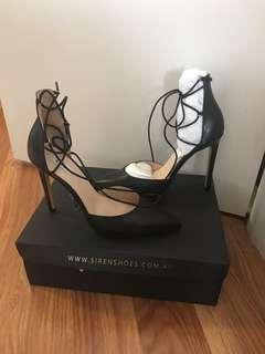 Siren black heels