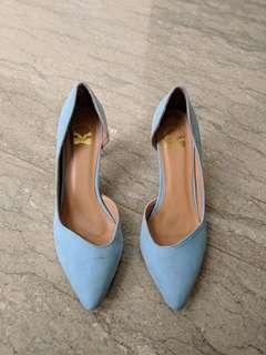 The Little Thing She Need Blue Heels