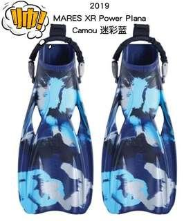 MARES XR Power Plana Fins 2019 NEW MODEL 新款頂級潛水蛙鞋