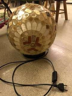 Natural Shell Sphere Lamp Ball