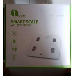 1 by One Smart Weighing Scale with App Support