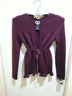 🚚 Lindarico羊毛浪漫針織小外套,可議價。
