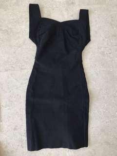 Bandage dress black