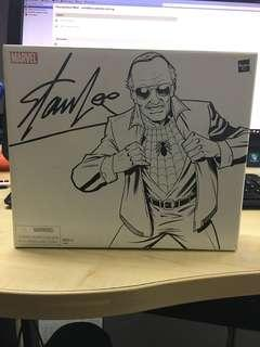 Marvel Legends Stan Lee 6 inch Figure that can transform to Spiderman Spider-Man - Brand New & Sealed