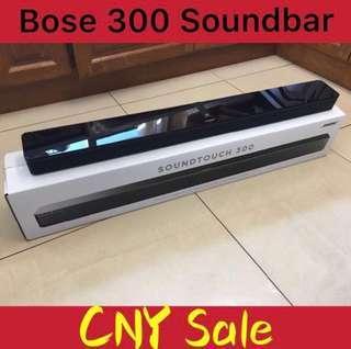 🚚 【CNY promo】BOSE SOUNDTOUCH 300 SOUNDBAR - By Dealer