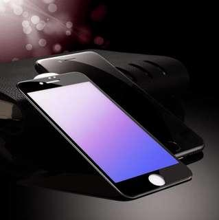 Anti-Blue Light Tempd Glass Screen Protector iPhone 8+ 7+