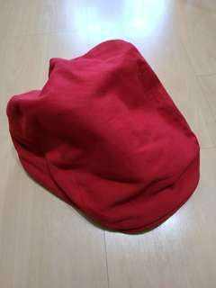 🚚 Red flat top cap brand new