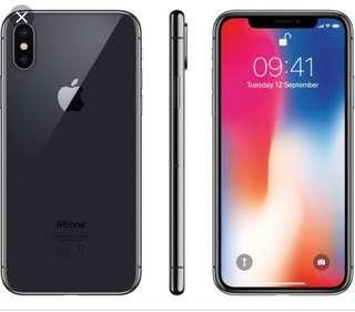 iPhone X - space grey - 256gb (less than 1 year)