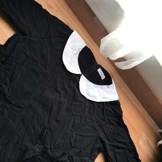 Black Collared 'type' Dress.