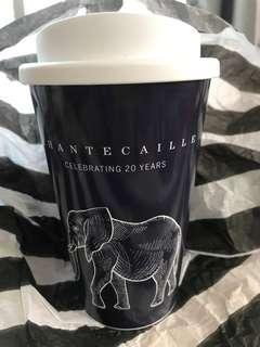 Chantecaille 20周年外賣咖啡杯 正品未用過 takeaway coffee cup