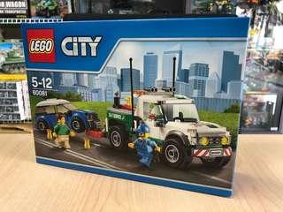Lego City 60081, Pickup Tow Truck