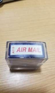AIR MAIL 紅色印…包郵交收