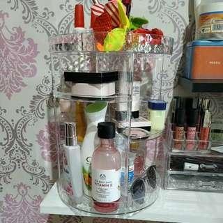 Acrilic /rak makeup/organizer/make up/tempat/wadah/ plastik/baju import/bkk
