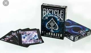 Stargazer Bicycle poker cards play cards