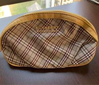 Pre-owned Burberry Blue Label Cosmetic pouch
