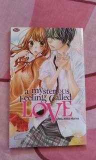 Komik A Mysterious Feeling Called Love - Umezawa Marina