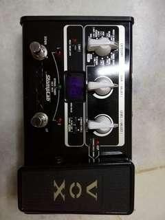 Multieffects pedal