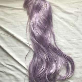 Wig Purple for Halloween - used once