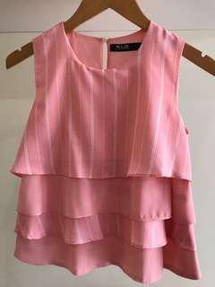 Maje pink top #CNY2019