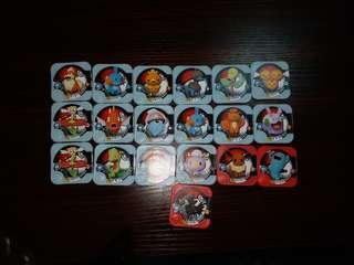 Pokemon tretta  比卡超 卡