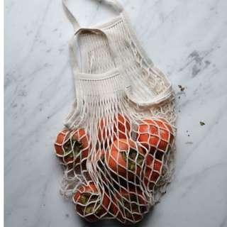 Parisian Style Cotton Net Bags