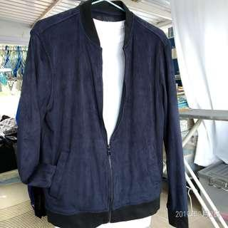 全新剪牌深紫色 Slim Fit Zara MA-1 Jacket size M