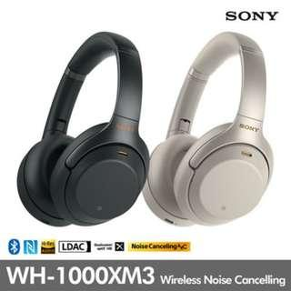 9357f296fed Brand New Sony WH-1000XM3 Wireless Bluetooth Over Ear Headphones (100% real)