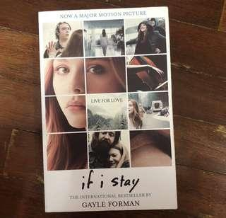 If I Stay By Gayle Forman Novel