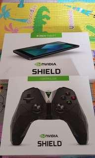 Nvidia shield tablet + 手制 Game Tablet, 好玩過switch