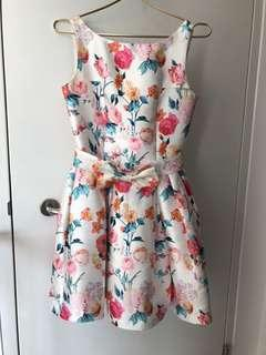 Floral Dress perfect for CNY