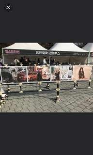 INSTOCK Blackpink concert posters