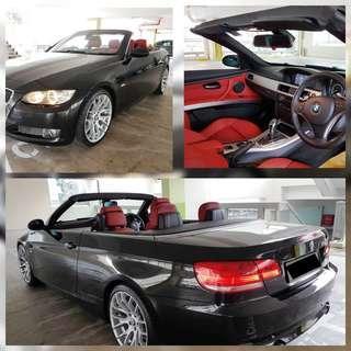 BMW 335i Cabriolet Rental