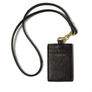Coach chest card holder