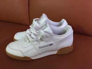 Reebok classic經典白鞋(US8)