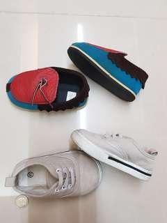 幼兒14cm Q底鞋(灰色) 可當室內鞋