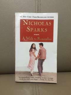 (PRE-LOVED) A Walk to Remember by Nicholas Sparks