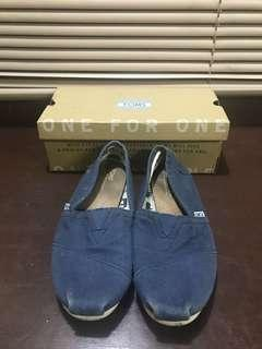 TOMs Classic - Navy Blue