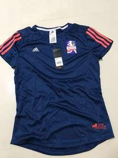 BNWT 2017 Great Eastern Adidas Finisher Dri Fit T round neck shirt
