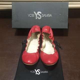 Yosi Samra Ballet Flats - Leather material