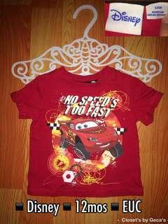 Disney Cars Baby Shirt