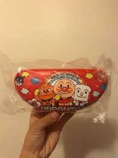 🚚 麵包超人 眼睛盒 收納 紅色