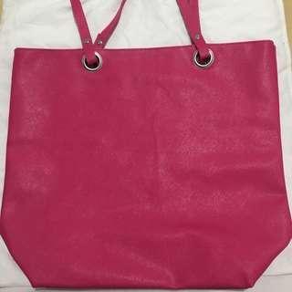 Large Pink Tote Bag