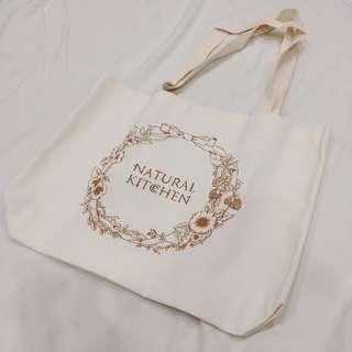 🚚 NATURAL KITCHEN 簡約帆布袋