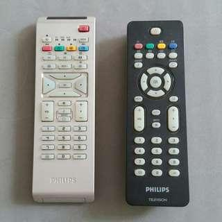 Philips TV remote control - 2 pcs.