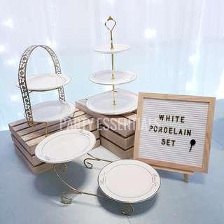 Cupcake Dessert Tray Stands [Rent]