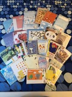 Letter and envelop sets (26 sets)